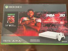 Microsoft XBOX ONE X 1TB HyperSpace Limited Edition NBA 2K20 Bundle Brand NEW