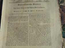 1814 56 ...Blätter /  / Brünn Museum / Überschwemmung Puchov Puchau Österreich
