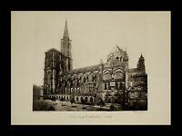 Strasbourg (Strasburg) Cathedral 1886 RARE Photogravure