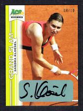 Sandra Kloesel signed autograph auto 2013 Ace Authentic Grand Slam Tennis 4/10