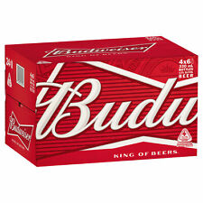 Budweiser King of Beer, 330ml - 24 Bottles
