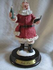 "Duncan Royale 6"" Soda Pop Santa Claus Figurine-History of Santa Claus Collection"
