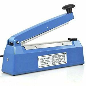 "Impulse Heat Sealer 300mm/12"" Sealer Plastic PP Body sealing bags"
