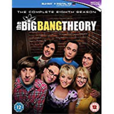 BIG BANG THEORY COMPLETE SERIES 8 Blu Ray Eighth Season All Episodes New R2
