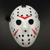 Halloween Jason Voorhees Mask Friday The 13th Horror Movie Hockey Costume Prop