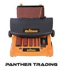 Triton 450 W oscillant Broche & Ceinture Sander fourni avec accessoires - 977604