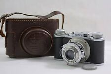 VINTAGE WIRGIN EDINEX II CAMERA WITH 50MM F3.5 EDINAR LENS 1951