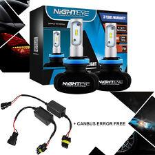 NIGHTEYE 8000LM H11 H8 H9 LED Headlight Kit Light Canbus Error Free Anti Flicker