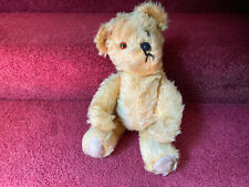 Antique Chad Valley Teddy Bear British Fully Jointed Mohair