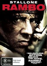 Rambo (DVD, 2008) Sylvester Stallone movie