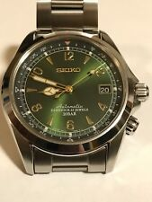 Seiko SARB017 Alpinist 6R15 Watch on JDM D3A7AB Bracelet