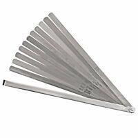 Proto J000SL 1/2 x 12-Inch 12 Blade Durable Steel Long Feeler Gauge Set
