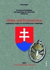 Seehagen Orden und Ehrenzeichen Slowakische Republik 1939-1945 Wehrmacht