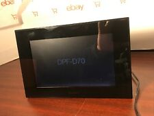 """Sony DPF-D70 7"""" Digital Picture Frame Works Great!"""