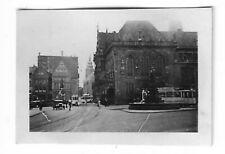 Foto, Bremen, Denkmal, Straßenbahn, Gebäude, Kleinbild: 4 x 3 cm