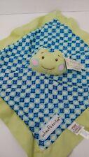 Baby Ganz wheatberries Frog blue green Baby Security Blanket Mini Blankie