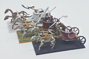 Warhammer - Tomb King Chariots - Painted