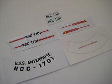 Dinky 358  - STAR TREK - U.S.S Enterprise Stickers - B2G1F
