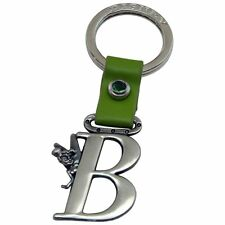 Authentic Disney Tinker Bell Letter B Pewter Keychain Key Ring Chain Keyring