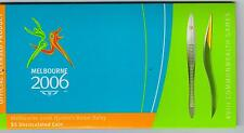2006 Royal Australian Mint $5 Uncirculated - Melbourne 2006 Queen's Baton Relay