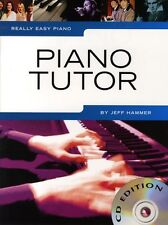Really Easy Piano Piano Tutor Learn to Play Beginner Lesson Music Book NEW