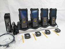 Lot of 4 Symbol MC9060-S 1D laser WiFi Color PPC2003 MC9060-SH0HBAEA4WW