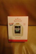 Hallmark Keepsake 2013 Ornament QXI2275 Happy Days Magic Sound MIB