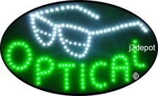 """US Seller Animated Optical Led Sign neon lighted. Video inside.  21""""x13-1/2"""""""
