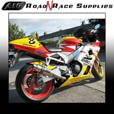 Honda CBR900 954 FIREBLADE 2002-2004 A16 Stainless MOTO GP Exhaust with Baffle