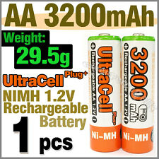 1 AA 3200mAh NIMH Rechargeable Battery HR6 2A Ultra O