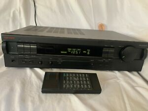 Vintage Nakamichi Receiver 3 GREAT CONDITION Original Owner Remote Not Working