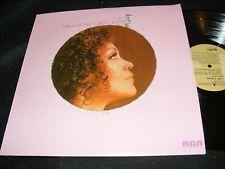 CLEO LAINE I Am A Song LP 1973 RCA US Issue Pop jazz Legend Beige Label Original