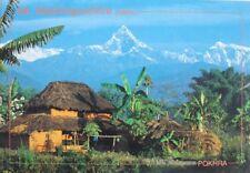 Mount Machhapuchhre Nepal Postcard