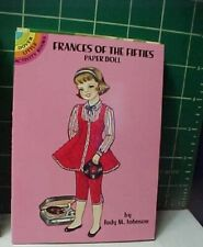 FRANCES OF FIFTIES full-color Dover PAPERDOLL