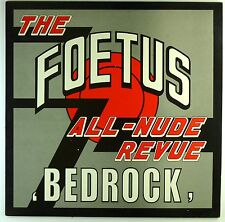 """12"""" Maxi - The Foetus All-Nude Revue - Bedrock - M727 - washed & cleaned"""