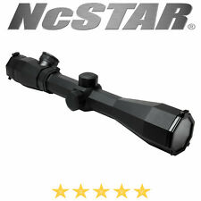 NcSTAR 3-9X40 Octagon  Rubber Armored Blue & Red Ill P4 Sniper Rifle Scope
