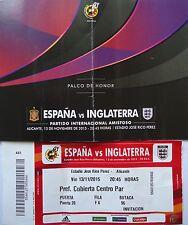 TICKET 13.11.2015 Spanien - England in Alicante (5)