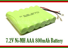 7.2V AAA Ni-MH 800mAh 6 Cell Pack Battery Universal Plug wire for Cordless Phone