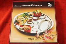 WMF Tomaten Eierkabarett Cromogan Schale Servierteller Box Edelstahl Salat Telle