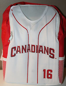 Vancouver Canadians A&W Jersey Cooler Lunch Bag Promo NWL Baseball #16