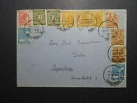 Germany 1948 Cover to Regensburg / Top Edge Creasing - Z12114