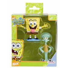"""Coffret cadeau 2 figurines """"Bob l'éponge"""""""