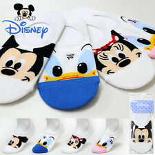 4 Pairs Women Socks Big Kids Mickey Mouse Cartoon Disney Funny Character Socks