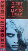 Night of the Living Dead (VHS, 1994, Blockbuster Video) George Romero