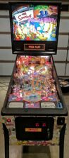 100% Mint Simpsons Pinball Party Stern Pinball Machine Home Use Only.