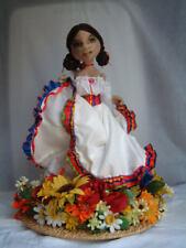 """*New* Cloth Art Doll (Paper) Pattern """"Conchita"""" By Shelley Hawkey"""