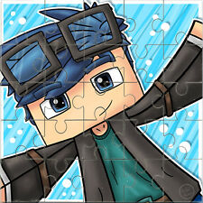 Dan TDM Jigsaw -  The Diamond Minecart - Youtube Sensation 25piece Design 2