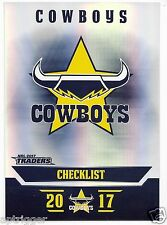 2017 NRL Traders Parallel Special (PS081) COWBOYS Check List