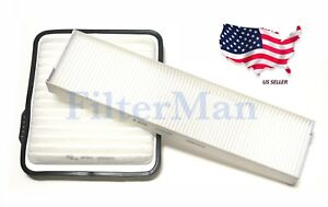 Engine&Cabin Air Filter For Chevy Equinox Pontiac Torrent Saturn Vue US Seller
