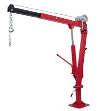 vidaXL Truck Pickup Crane Hydraulic 360 Swivel 450/900kg Car Lift Cable Hoist
